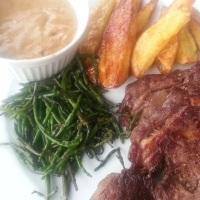 Simple Saucey Steaks